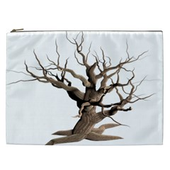 Tree Isolated Dead Plant Weathered Cosmetic Bag (xxl)