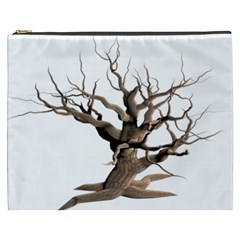 Tree Isolated Dead Plant Weathered Cosmetic Bag (xxxl)