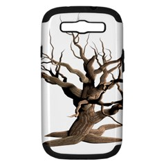 Tree Isolated Dead Plant Weathered Samsung Galaxy S Iii Hardshell Case (pc+silicone)