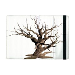 Tree Isolated Dead Plant Weathered Apple Ipad Mini Flip Case