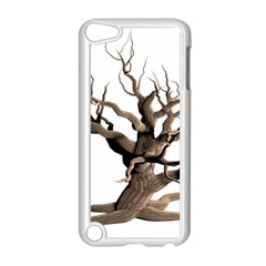 Tree Isolated Dead Plant Weathered Apple iPod Touch 5 Case (White)