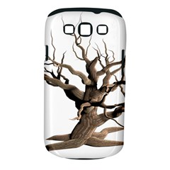 Tree Isolated Dead Plant Weathered Samsung Galaxy S Iii Classic Hardshell Case (pc+silicone)