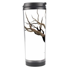 Tree Isolated Dead Plant Weathered Travel Tumbler