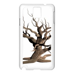 Tree Isolated Dead Plant Weathered Samsung Galaxy Note 3 N9005 Case (white)