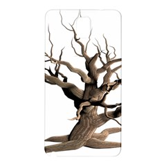 Tree Isolated Dead Plant Weathered Samsung Galaxy Note 3 N9005 Hardshell Back Case