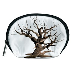 Tree Isolated Dead Plant Weathered Accessory Pouches (Medium)