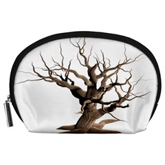 Tree Isolated Dead Plant Weathered Accessory Pouches (Large)