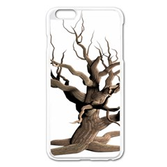 Tree Isolated Dead Plant Weathered Apple Iphone 6 Plus/6s Plus Enamel White Case