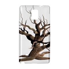 Tree Isolated Dead Plant Weathered Samsung Galaxy Note 4 Hardshell Case