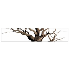 Tree Isolated Dead Plant Weathered Flano Scarf (small)