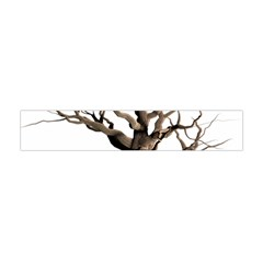 Tree Isolated Dead Plant Weathered Flano Scarf (Mini)