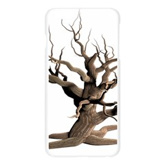 Tree Isolated Dead Plant Weathered Apple Seamless iPhone 6 Plus/6S Plus Case (Transparent)