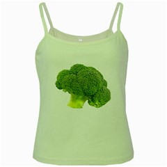 Broccoli Bunch Floret Fresh Food Green Spaghetti Tank