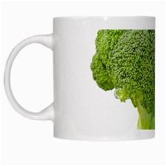 Broccoli Bunch Floret Fresh Food White Mugs