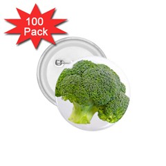 Broccoli Bunch Floret Fresh Food 1 75  Buttons (100 Pack)