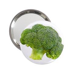Broccoli Bunch Floret Fresh Food 2 25  Handbag Mirrors