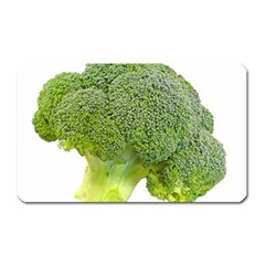 Broccoli Bunch Floret Fresh Food Magnet (rectangular)