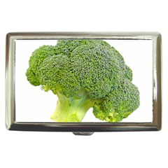 Broccoli Bunch Floret Fresh Food Cigarette Money Cases