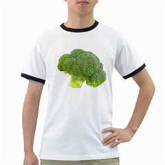 Broccoli Bunch Floret Fresh Food Ringer T Shirts