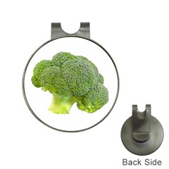 Broccoli Bunch Floret Fresh Food Hat Clips With Golf Markers