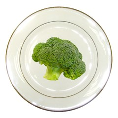 Broccoli Bunch Floret Fresh Food Porcelain Plates