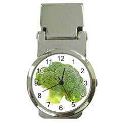 Broccoli Bunch Floret Fresh Food Money Clip Watches