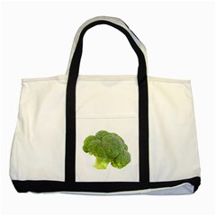 Broccoli Bunch Floret Fresh Food Two Tone Tote Bag