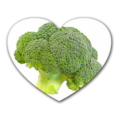 Broccoli Bunch Floret Fresh Food Heart Mousepads
