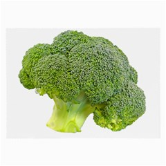 Broccoli Bunch Floret Fresh Food Large Glasses Cloth (2-Side)