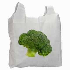 Broccoli Bunch Floret Fresh Food Recycle Bag (One Side)