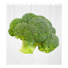 Broccoli Bunch Floret Fresh Food Shower Curtain 66  x 72  (Large)
