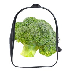 Broccoli Bunch Floret Fresh Food School Bags(large)