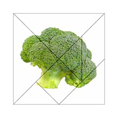 Broccoli Bunch Floret Fresh Food Acrylic Tangram Puzzle (6  X 6 )
