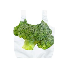 Broccoli Bunch Floret Fresh Food Full Print Recycle Bags (s)