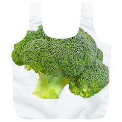 Broccoli Bunch Floret Fresh Food Full Print Recycle Bags (l)