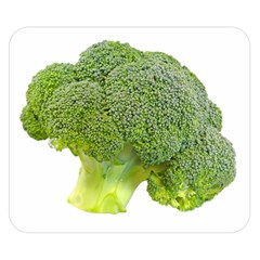 Broccoli Bunch Floret Fresh Food Double Sided Flano Blanket (small)