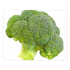 Broccoli Bunch Floret Fresh Food Double Sided Flano Blanket (large)
