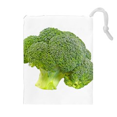 Broccoli Bunch Floret Fresh Food Drawstring Pouches (extra Large)
