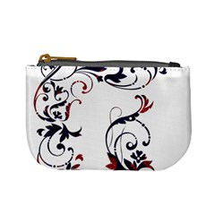 Scroll Border Swirls Abstract Mini Coin Purses