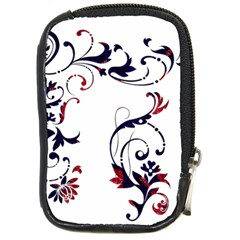 Scroll Border Swirls Abstract Compact Camera Cases