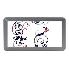Scroll Border Swirls Abstract Memory Card Reader (mini)