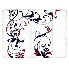 Scroll Border Swirls Abstract Samsung Galaxy Tab 7  P1000 Flip Case