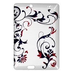 Scroll Border Swirls Abstract Amazon Kindle Fire Hd (2013) Hardshell Case
