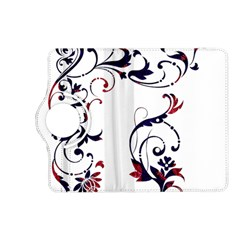 Scroll Border Swirls Abstract Kindle Fire HD (2013) Flip 360 Case