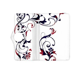 Scroll Border Swirls Abstract Kindle Fire Hdx 8 9  Flip 360 Case