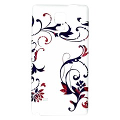 Scroll Border Swirls Abstract Galaxy Note 4 Back Case