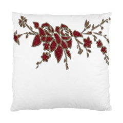 Scrapbook Element Nature Flowers Standard Cushion Case (two Sides)