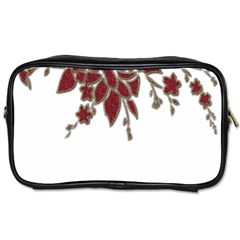 Scrapbook Element Nature Flowers Toiletries Bags