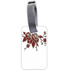 Scrapbook Element Nature Flowers Luggage Tags (two Sides)
