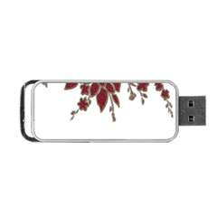 Scrapbook Element Nature Flowers Portable Usb Flash (one Side)